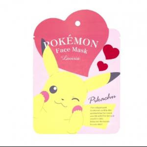 Pokemon - Face Mask Pikachu