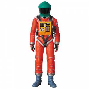 2001: a space odyssey - SPACE SUIT GREEN HELMET & ORANGE SUIT Ver.  [Mafex No. 110]