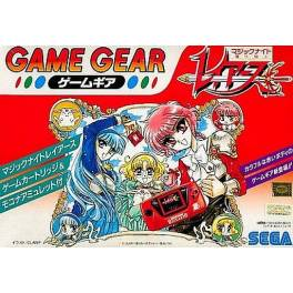 Game Gear Red + Magic Knight Rayearth [Used Good Condition]