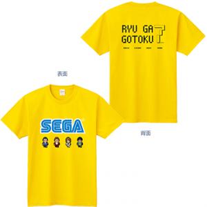 RYU GA GOTOKU 7 / YAKUZA 7 Tshirt (8 Bit) - Tokyo Game Show 2019 Limited Edition [Goods]