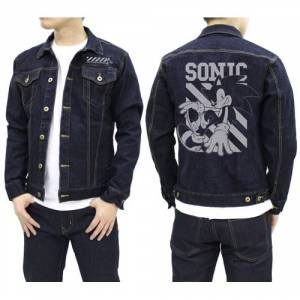 Sonic the Hedgehog Denim Jacket Indigo - Tokyo Game Show 2019 Limited Edition [Goods]