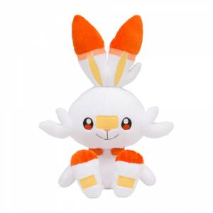 Pokemon Sword and Shield - Scorbunny Plush Pokemon Center Limited Edition [Goods]