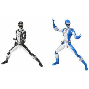 GoGo Sentai Boukenger - Bouken Black & Bouken Blue Set [SH Figuarts] [Used]