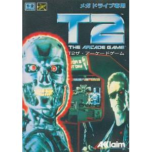 Terminator 2 - The Arcade Game [MD - Used Good Condition]