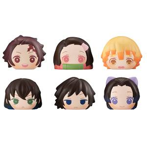 FukaFuka Sqeeze Bread Kimetsu no Yaiba / Demon Slayer 6 Pack Box [Megahouse]