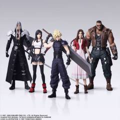 Final Fantasy VII REMAKE 5 Pack BOX [Trading Arts / Square Enix]