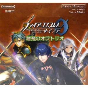 """TCG Fire Emblem Cipher Booster Pack """"Yuuhi no Oratorio"""" 16Pack BOX"""