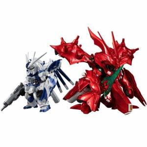 FW GUNDAM CONVERGE: CORE Hi-ν Gundam & Nightingale (metallic color ver.) Bandai Premium Limited Edition [Bandai]