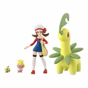 Pokemon Scale World Johto Region Lyra & Bayleef & Natu & Smoochum Limited Set [Bandai]