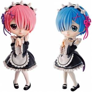 Q posket Re:ZERO - Starting Life in Another World - Rem & Ram [Banpresto]