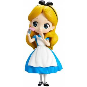 Q posket Disney Characters - Alice Thinking Time [Banpresto]