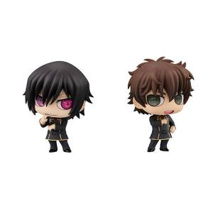 Code Geass: Lelouch of the Rebellion Lelouch Lamperouge & Suzaku Kururugi Set [Chimi Mega Buddy Series! / MegaHouse]