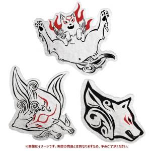 Okami Special Collection Amaterasu Mofumofu Sticker Set of 3 - e-Capcom Limited [Goods]