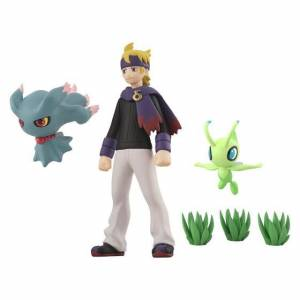 Pokemon Scale World Johto Region Mortimer (Matsuba) & (Misdreavus) Muma & Celebi Limited Set [Bandai]