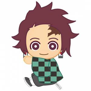 Pitatto Mascot Kimetsu no Yaiba 01 Tanjirou Kamado [Goods]