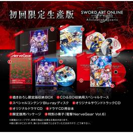 Sword Art Online Alicization Lycoris - First Press Limited Edition [PS4]