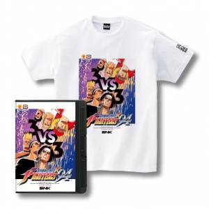Romty! KOF'94 T-shirt SNK ONLINE SHOP Limited Edition [Goods]
