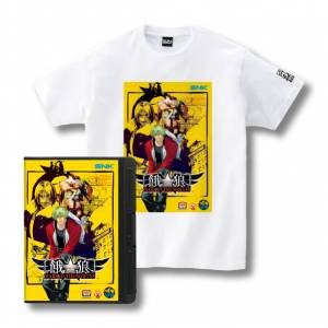 Romty! Garou MOW T-shirt SNK ONLINE SHOP Limited Edition [Goods]