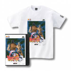 Romty! Art of Fighting 2 / Ryūko no Ken 2 T-shirt SNK ONLINE SHOP Limited Edition [Goods]