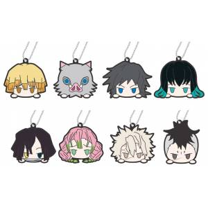 Rubber Mascot Kimetsu no Yaiba Odango Series B 10 Pack BOX [Goods]