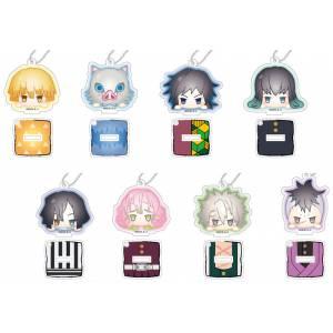 Stand Mini Acrylic Keychain Kimetsu no Yaiba Odango Series B 10 Pack BOX [Goods]