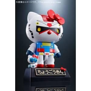 """Chogokin Gundam Hello Kitty """"Mobile Suit Gundam"""" """"Hello Kitty"""" [Bandai]"""