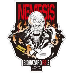 Capcom x B-SIDE LABEL Sticker - Resident Evil RE:3 / Biohazard RE:3 Nemesis [Goods]