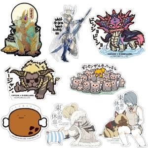 Capcom x B-SIDE LABEL Sticker - Monster Hunter 8 Stickers Set [Goods]