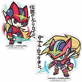 Capcom x B-SIDE LABEL Sticker - Rockman / Mega Man Zero &  ZX Set [Goods]