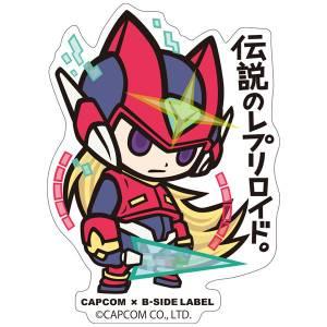Capcom x B-SIDE LABEL Sticker - Rockman / Mega Man Zero [Goods]