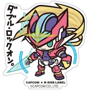Capcom x B-SIDE LABEL Sticker - Rockman / Mega Man ZX [Goods]