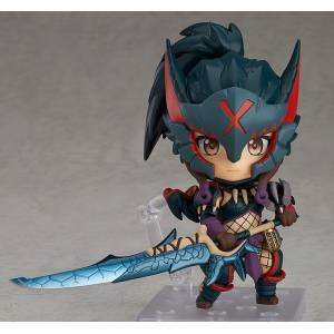 FREE SHIPPING - Nendoroid Hunter: Female Nargacuga Alpha Armor Ver. MONSTER HUNTER WORLD: ICEBORNE [Nendoroid 1284]