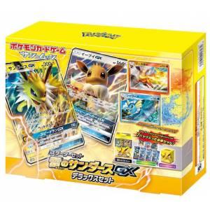 "Pokemon Card Game Sun & Moon Starter Set Electric ""Jolteon GX Eevee GX Premium Edition"" [Trading Cards]"