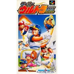 Super Ultra Baseball [SFC - Used Good Condition]