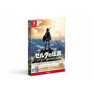 Zelda no Densetsu - Breath of the Wild (Adventure Guide Book & Map Special Pack) [Switch - Occasion]