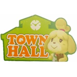 Travel Sticker Animal Crossing Town Hall [Goods]