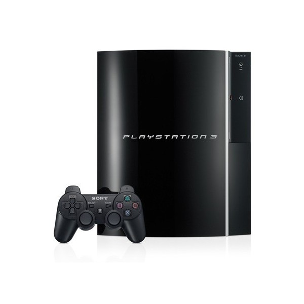 Buy PlayStation 3 20GB Black - PS2 softs compatible -used ...