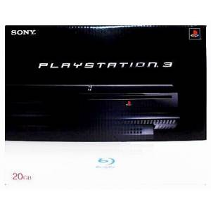 PlayStation 3 20GB Black (PS2 backward-compatible) [Used]