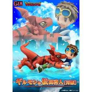 G.E.M. Series Guilmon & Takato Matsuda Digimon Tamers Limited Set [Megahouse]