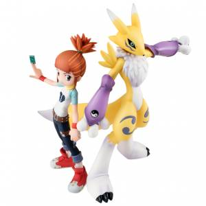 G.E.M. Series Makino Ruki & Renamon Digimon Tamers Limited Set [Megahouse]