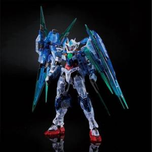 RG 1/144 The Gundam Base Limited 00 QAN[T] Full Saber Clear Color Plastic Model [Bandai]