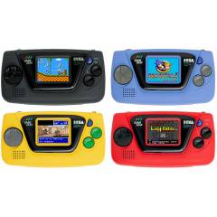 Game Gear Micro 4 color set (with Big Window Micro) [SEGA - Brand new]
