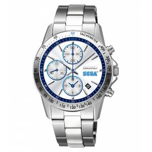 SEGA × SEIKO 60th Anniversary Model (Silver) Watch [Goods]