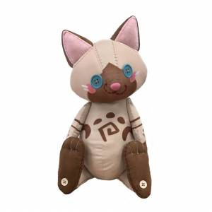 Monster Hunter World Iceborne Plush Airu Doll [Goods]