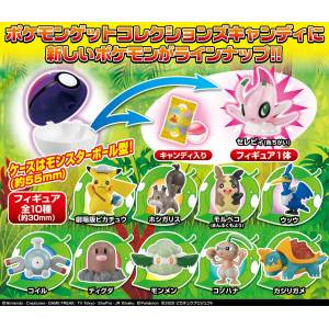 Movie Pokemon Koko Pokemon Catch 'em Collections Candy 10 Pack BOX [Takara Tomy]