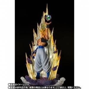 Figuarts Zero Super Fierce Battle Super Saiyan Gogeta -Fusion of Resurrection- Dragon Ball Z Limited Edition [Bandai]