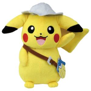 FREE SHIPPING - Pokemon Plush Movie Pikachu [Goods]