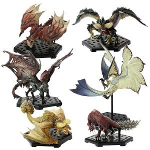 Capcom Figure Builder Monster Hunter Standard Model Plus THE BEST -Vol.9, 10, 11 - 6 Pack BOX [CFB]