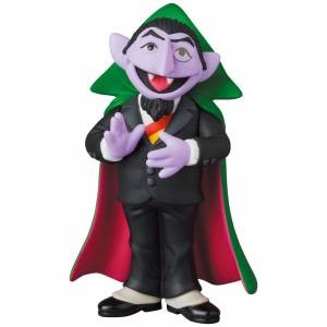 UDF SESAME STREET Series 2 COUNT VON COUNT [Ultra Detail Figure No.580]