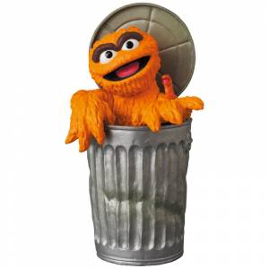 UDF SESAME STREET Series 2 OSCAR THE GROUCH The Original Orange Fur Ver. [Ultra Detail Figure No.583]